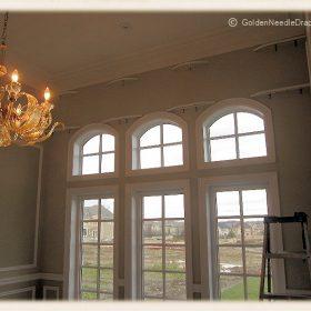 Arch Window Drapery Panels-4