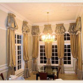 Arch Window Drapery Panels-5