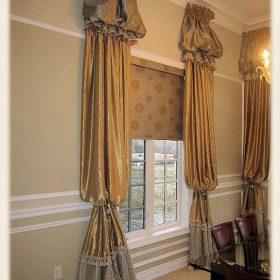 Arch Window Drapery Panels-7