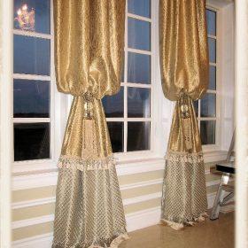 Arch Window Drapery Panels-8