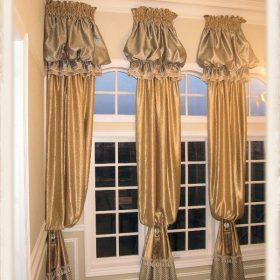 Arch Window Drapery Panels-9