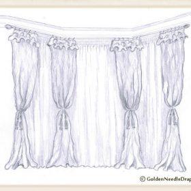 Bay Window Drapery Panels-1