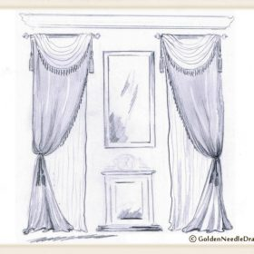 Double Window Drapery Panels-2